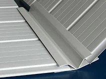 Emenda H flexivel - barra c/ 6,00 mt para forro pvc - Ideal para emendar lâminas de forro pvc desniveladas