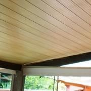 Forro PVC madeirado cerejeira instalado