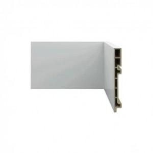 rodapé pvc wood, branco, dimensões 150x18mmx2,4m
