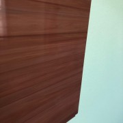 Forro PVC Jatoba com brilho