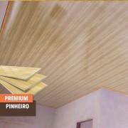 Forro PVC Premium Pinheiro instalado